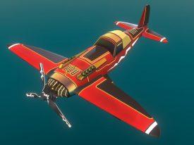 Airheart Airplane: The Hunter (Sketchfab)