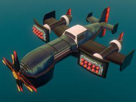 Airheart Airplane: The Rammer (Sketchfab)