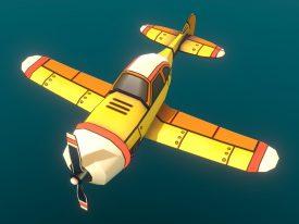 Airheart Airplane: The Starter (Sketchfab)