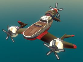Airheart Airplane: The Turret (Sketchfab)