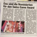 (re)format Z: Swiss Game Award Nomination