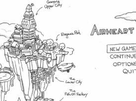AIRHEART 3D WIP Part 5: Granaria City