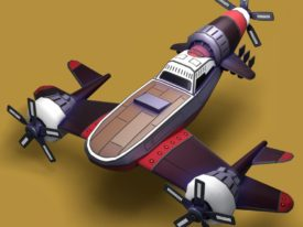 AIRHEART: Turret Airplane